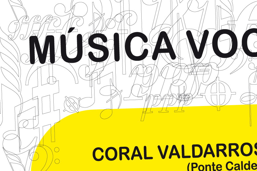 Cartel Concerto Coro de Cámara Thalassa 2010